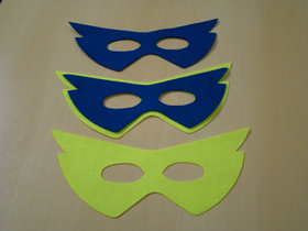 Máscaras em Tecido Colorido Image