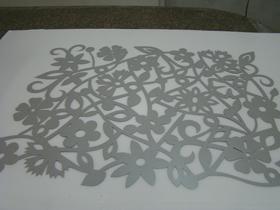 Papel Decorativo Prateado Image
