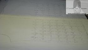 Tecido de Couro Branco Image